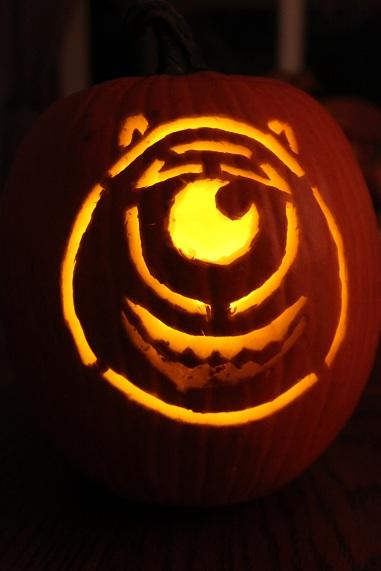 inc pumpkin mike wazowski smile mike wazowski painted pumpkin mikeMike Wazowski And Sully Pumpkin